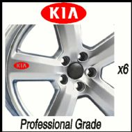 KIA CAR WHEEL DECALS